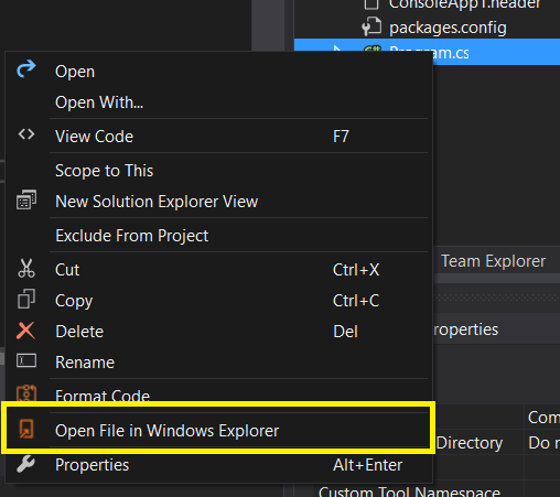 Open File in Windows Explorer - Visual Studio Marketplace